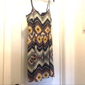 Xhilaration Aztec Printed Dress